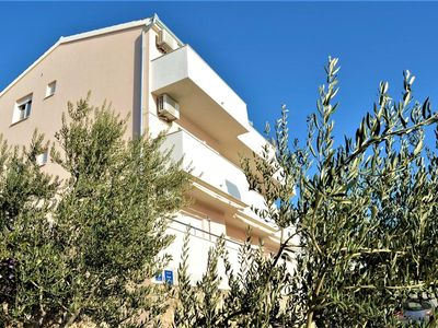 Photo for Two bedroom apartment with balcony and sea view Stanići, Omiš (A-12929-c)