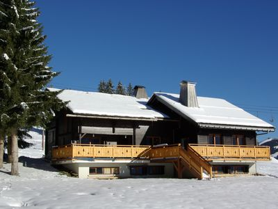 Photo for in Manigod-La Clusaz resort,big chalet on the slopes,comfortable,splendid view