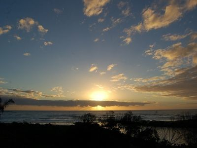 Photo for The Point  - pet friendly beachfront property at Pottsville Beach