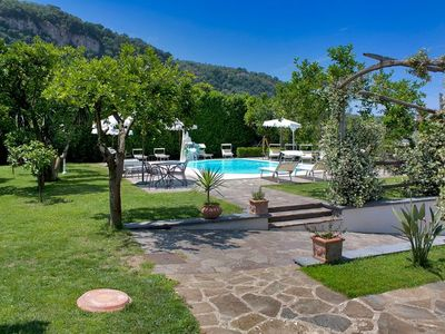 Photo for One bedroom Villa, sleeps 4 with Air Con, FREE WiFi and Walk to Beach & Shops