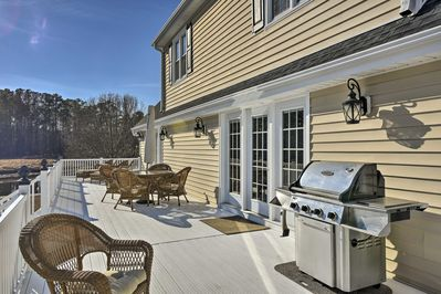 Up to 12 guests will have the ideal getaway at this 4-bedroom, 2.5-bath home.