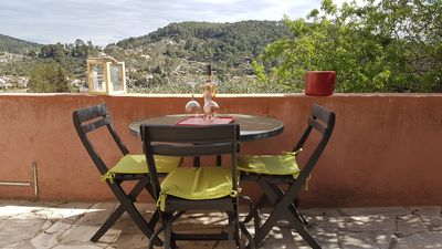 Photo for rental with superb terrace and magnificent view Var Côte d'Azur