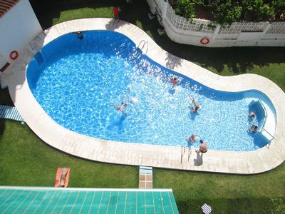 Photo for Ref: 1170, Apartment 2 bedrooms, Pool, A / C, Next to Torrecilla beach