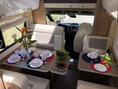 Photo for Our brand new family caravan for up to 7 people