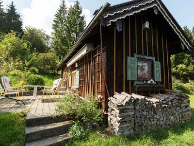 Photo for Cosy and rustic wooden house in the Alpine foothills, between Garmisch and Munich