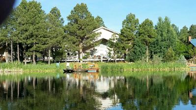 Photo for Luxury LAKE FRONT HOME on Village Lake save $$$ Feb 22-28