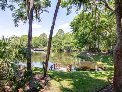 Photo for 7645 Huntington | Nicely Decorated | Screened Porch w/ Lagoon View | 3 Minute Walk to Beach