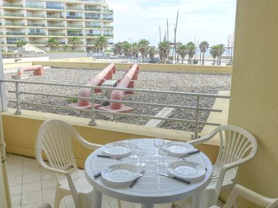 Photo for Apartment Le Beach in Canet-Plage - 4 persons, 2 bedrooms