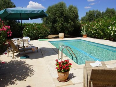 Photo for Private sea close vacation home with private pool and large olive grove