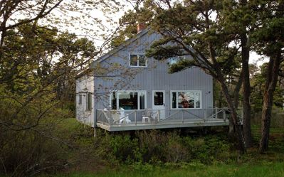 Photo for Oceanfront Cottage In The Center Of Popham Beach