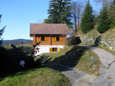 Photo for CHALET 'squirrels' IN CALM, WITH BEAUTIFUL VIEW GERARDMER VOSGES