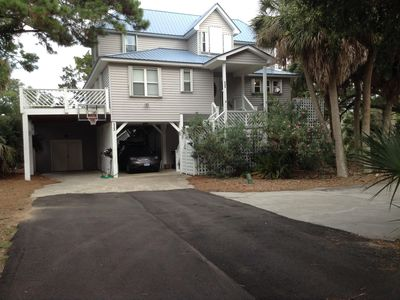 Photo for Private 4 bedroom home near beach and on golf course