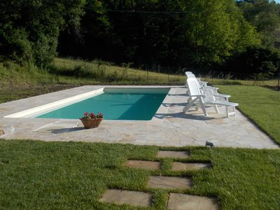 Photo for Beautiful villa with fenced garden and private pool