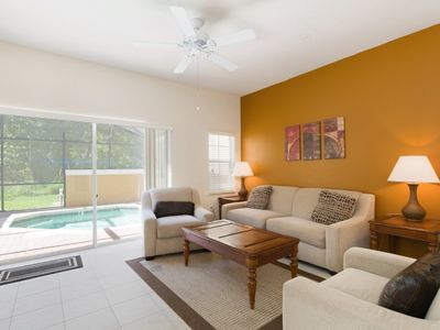 Photo for Beautiful Encantada Townhome with private pool and conservation view