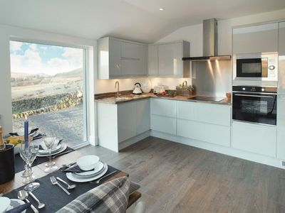 Photo for Corriedow is a beautiful 6 guest cottage, with amazing views of the Scottish hills and glens.