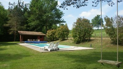 Photo for Refurbished mill with pool in beautiful secluded countryside
