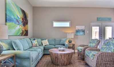 Photo for NEW LISTING!  Stylish Townhome  w/ Private Patio, Pool Access & Great Views