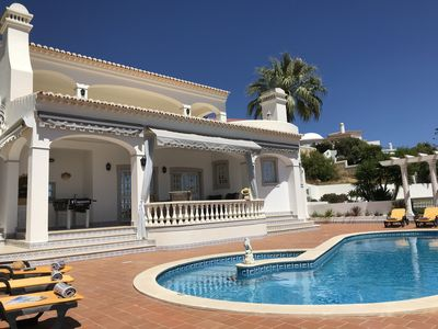 Photo for Villa, exceptional views, historic town center and beaches within walking distance