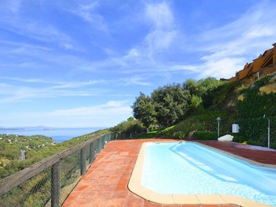 Photo for Fantastic semi-detached house with sea views, located in a quiet residential area 2km from