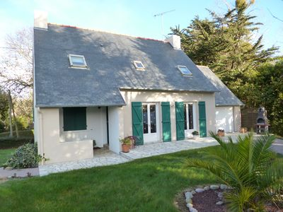 Photo for Detached house in lovely area Sables d'Or les Pins for 8 people