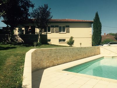 Photo for Detached house with pool on 2640 M2 of land.
