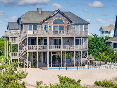 Photo for Spacious Oceanfront Retreat w/Saltwater Pool, Hot Tub, WiFi, Fish Cleaning Table