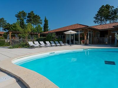 Photo for 2 bedroom Apartment, sleeps 4 in Parentis-en-Born with Pool and WiFi