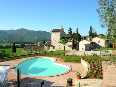 Photo for Rustic Holiday Home in Corciano with Swimming Pool