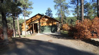 Photo for GREAT LOCATION GORGEOUS CABIN 1650 SF CANYON VIEW  FIREPLACE PLAYSET QUIET