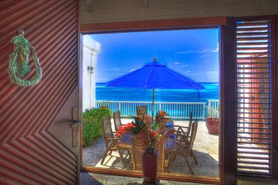 As you open the door, this spectacular view is the first thing you see.