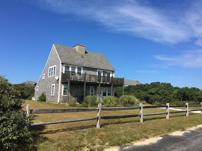 Photo for Charming Upside Down House, Ocean Views, Easy Walk To Spectacular Beach
