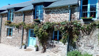 Photo for Country Gite (2 Bedrooms, Sleeps 4) Near Dinan