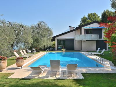 Photo for Villa DISMERO With Pool - Villa for 10 people in Brenzone