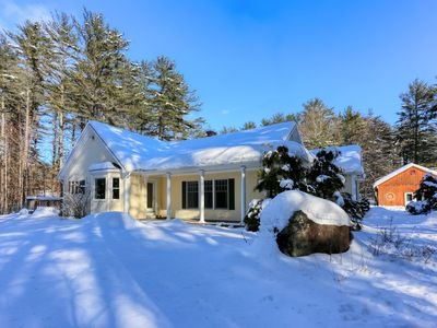 Photo for NEW LISTING! Dog-friendly cottage w/enclosed yard near Sunday River Resort
