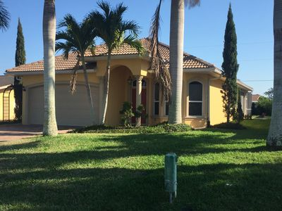 Photo for Beautiful 3BR Vacation Home with Heated Pool - Naples Park
