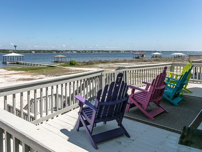 Photo for Waterfront Home in Gulf Shores! Beautiful home on the Lagoon with Kayaks, Paddle Boat & more!