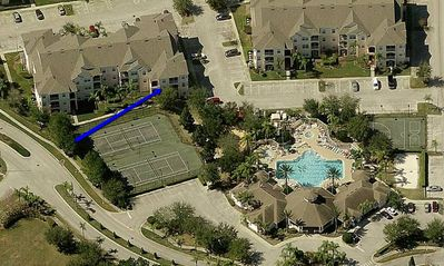 Photo for Windsor Palms  Resort : 3 BR/2 Bath Condo