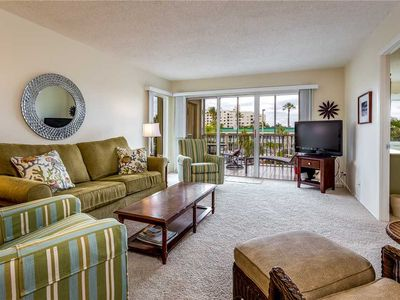 Photo for Sand Caper 202, Sleeps 4, Gulf Front,  2 Bedrooms, Elevator, Heated Pool