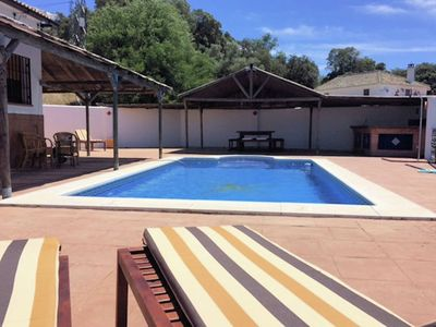 Photo for Spacious villa with private pool and stunning views near Iznájar