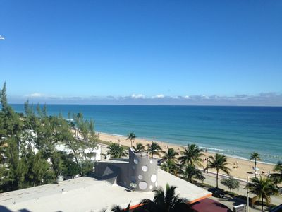 Photo for Ocean Views From King Suite @ The Atlantic Hotel On Ft Lauderdale Beach!