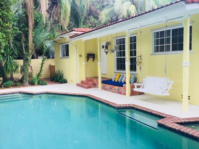 Photo for Coconut Grove Bungalow - Lush 2BD/2BA With Pool - Sleeps 6 - RCG200