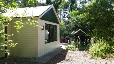 Photo for The Vechtdal cottage with fenced backyard. Your pet is very welcome!