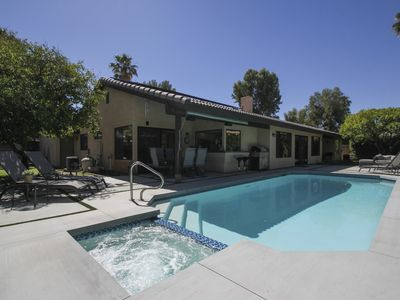 Photo for Primo established neighborhood, chic recently renovated, private pool/spa
