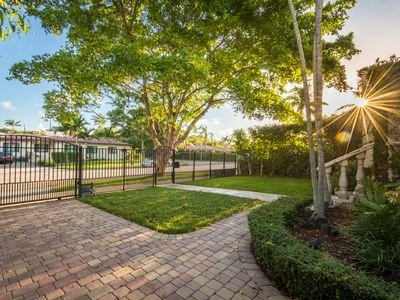 Your Gated Off-Street Parking, and Street Parking.  VERY Safe Neighborhood Too!