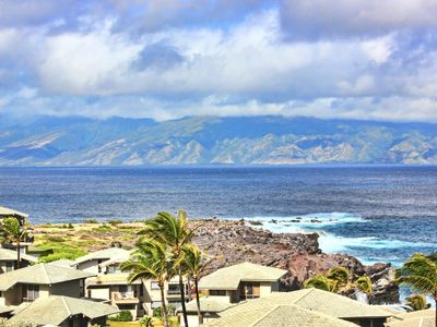 Photo for K B M Hawaii: Ocean Views, Two Story Villa 2 Bedroom, FREE car! Aug & Oct Specials From only $231!