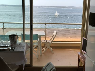 Photo for Prestigious apartment directly on the beach in Arcachon