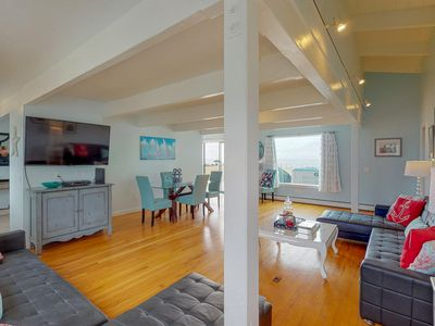 Photo for Dog-friendly, waterfront home w/ amazing views, private hot tub, & beach access