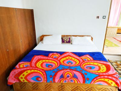 Photo for Hill top house 2br, incredible view, old Manali.