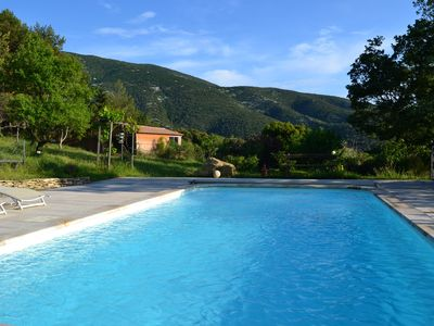 Photo for Quiet country house between Vaison and Nyons on a protected Ventoux site