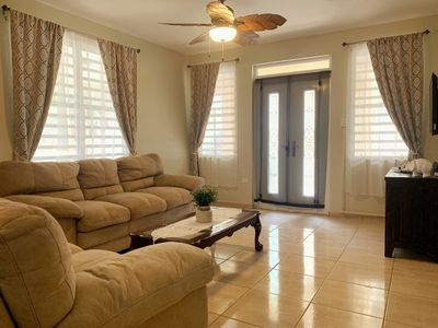 Photo for Cozy home near beaches,caves, rivers, waterfalls, water park, airport and more.